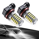 Marsauto-H11H8H9-LED-Fog-Lights-Bulbs-or-DRL-H16-66-SMD-Chipsets-Bright-Increase-Visibility-6000K-Cool-White-P