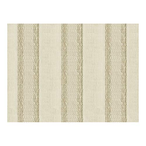 (Fabric & Fabric Kravet Couture Gilded Stripe Champagne 33279 1)