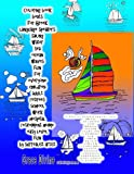 Coloring book boats for Greek language s...