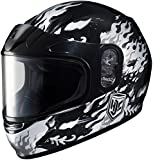 HJC 1119-2905-55 CL-Y Flame Face Snowmobile Youth Helmet , Distinct Name: MC-5, Gender: Boys, Helmet Category: Snow, Helmet Type: Full-face Helmets, Primary Color: Black, Size: Md, Size Segment: Youth