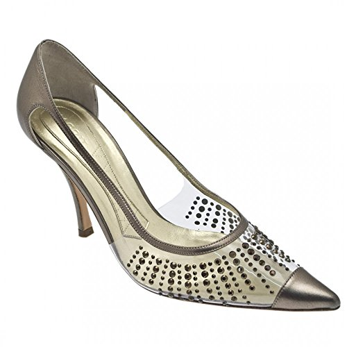 para Magrit vestir Zapatos mujer gris Gris Pewter de tUqSrxwn6U