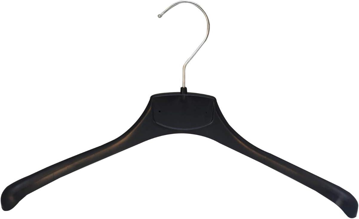 Kiroplast 25 Grucce Appendiabiti per Camicie Magliette Appendini Plastica Salvaspazio Antiscivolo Spalla Stretta Capospalla 39cm