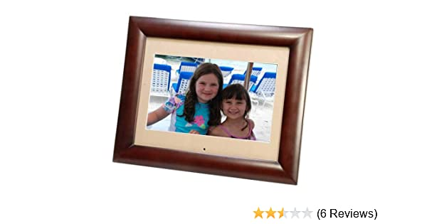 11 Smartparts SP1100W 128MB 800x480 Digital Photo Frame /& WMA Player w//Mosaic View Display 4 Images at Once! Wood