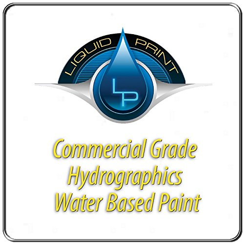 White Hydrographic Paint - 1 Quart - Water Based - Liquid Print Hydrographics Paint Supplies by Liquid Print