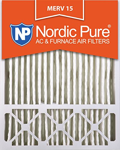 Nordic Pure 20x25x5LXREDM15-1 Lennox X6673_X6675 Replacement MERV 15 Filter