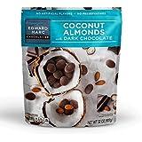 Edward Marc 32oz Coconut Almonds With Dark Chocolate