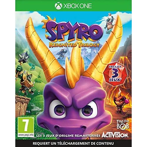 chollos oferta descuentos barato Spyro Reignited Trilogy Xbox One Importación francesa