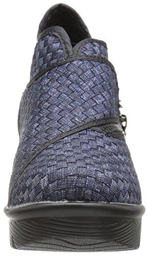 Mev Women's Bernie Zig Zag Bootie Jeans Ankle d0TxqSxCw