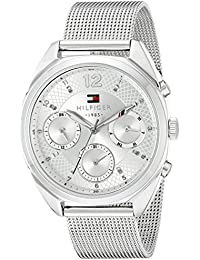 Womens 1781628 Sophisticated Sport Silver-Tone Stainless Steel Watch