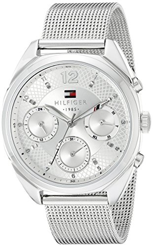 's 1781628 Sophisticated Sport Silver-Tone Stainless Steel Watch ()
