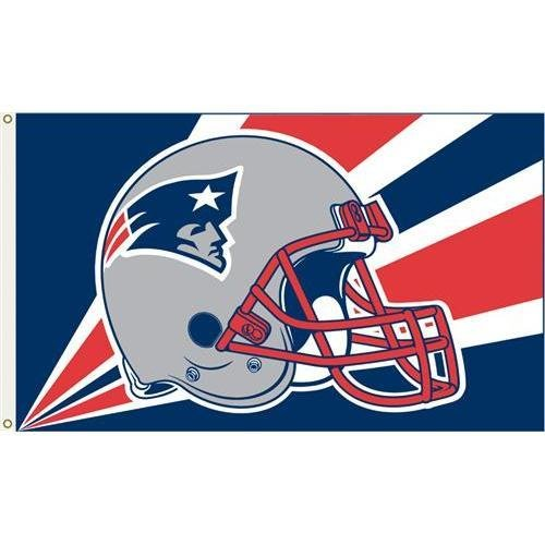 NFL新しいEngland Patriots 3フィートX 5 Ft。Flag Ft 3フィートX。Flag with Grommetts 5 B00OFUYI0O, 檜枝岐村:baff6a71 --- number-directory.top
