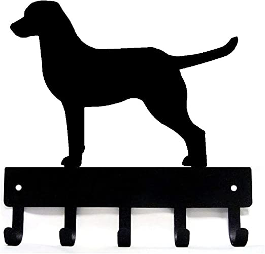 Small 6 inch Golden Retriever Key Rack /& Dog Leash Hanger