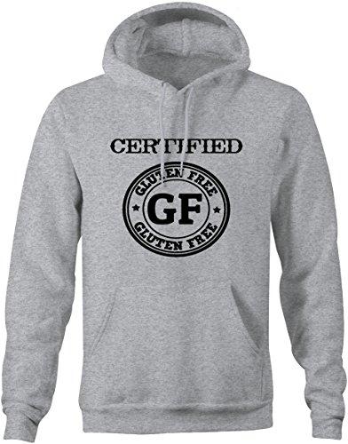 Lifestyle Graphix Certified Gluten Free GF Celiac Raw Sweatshirt -Medium