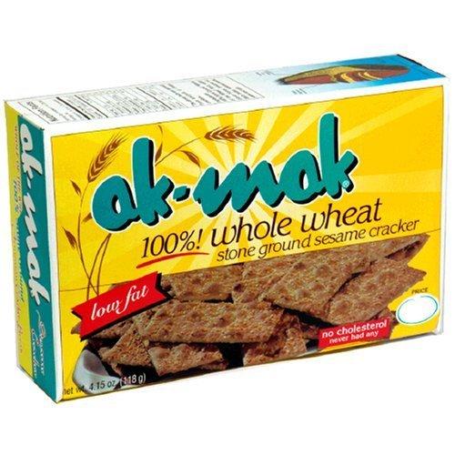 AK MAK CRACKER WHLWHT 100% SESAME, 4.15 OZ Ak Mak Crackers