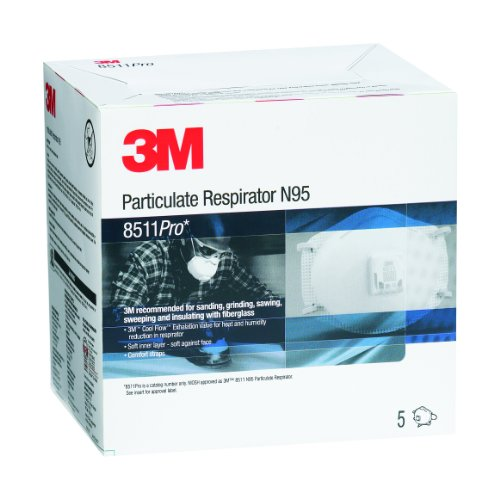 3M OH&ESD 142-8511Pro 8511 Particulate Respirator N95 Pr