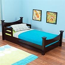 KidKraft Toddler Addison Bed, Espresso
