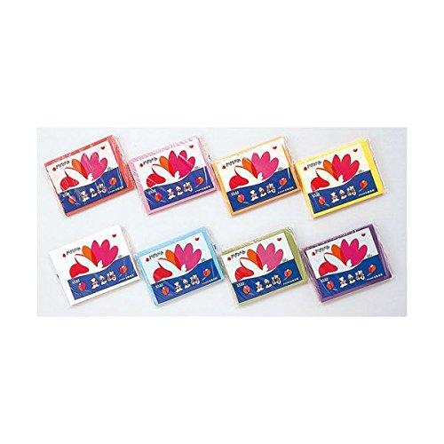 (20セット) 合鹿製紙 おはながみ 五色鶴 500枚 藤 B01CXGGF98