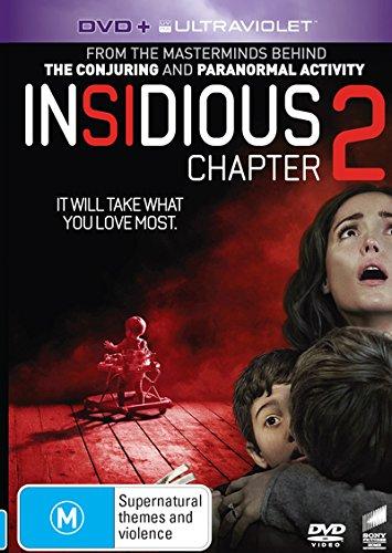 Insidious Chapter 2 | James Wan's | NON-USA Format | PAL | Region 4 Import - Australia