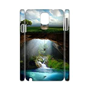 QNMLGB Hard Plastic of Fantasy Fairy Tale Cover Phone Case For samsung galaxy note 3 N9000 [Pattern-3]