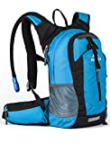 RUPUMPACK Insulated Hydration Backpack Pack with 2.5L BPA FREE Bladder - Keeps Liquid Cool up to 4...