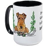 CafePress - Irish Terrier Gifts Large Mug - Coffee Mug, Large 15 oz. White Coffee Cup