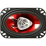 "BOSS AUDIO CH4620 Chaos Exxtreme 4"" x 6"" 2-way 200-watt Full Range Speakers"