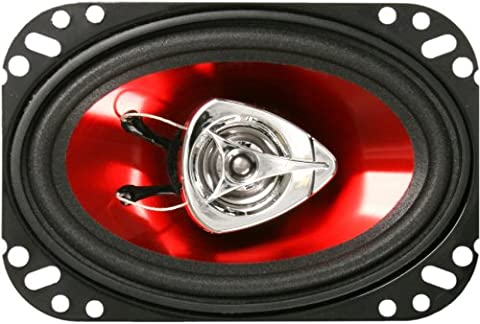BOSS Audio CH4620 200 Watt (Per Pair), 4 x 6 Inch, Full Range, 2 Way Car Speakers (Sold in Pairs) (Car Audio Aveo)