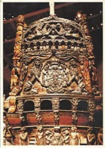 Collectible postcard warship vasa stockholm for Amazon sweden office