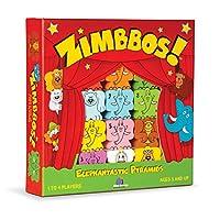 Blue Orange Games Premio Zimbbos Ganador de habilidades de madera Edificio STEM Contando el juego de apilar para niños