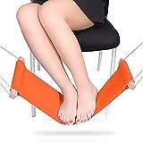 Foot Rest Desk Hammock,Mini Office Under Desk Foot Rest Stand Foot Hammock , Adjustable Desk Feet Hammock (Origan)