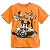 Disney Store - Halloween Mickey Mouse Skeleton Tee for Boys