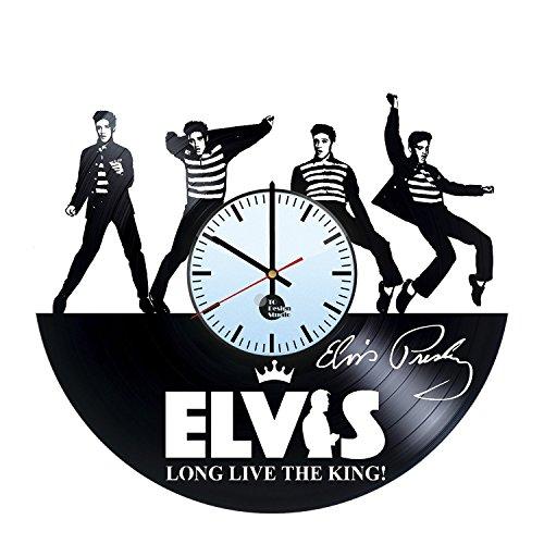 Elvis Presley Vinyl Record Wall Clock