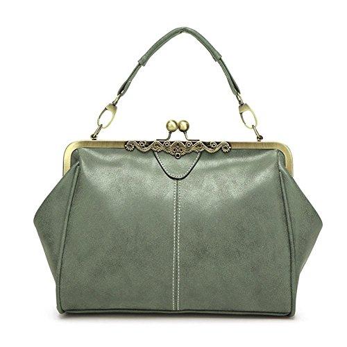 Shopping Femmes Sac Cuir Sacs Fourre à Bandoulière Green Femmes Sacs En À Main à Sacs Sacs Sac Mode Tout Sacs Sac Embrayages Cuir En Main WUYY Épaule vZ8q66
