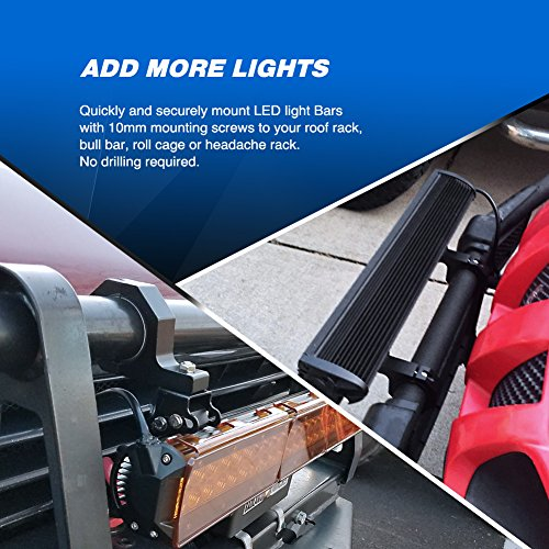 Nilight-LED-Off-Road-Light-Horizontal-Bar-Clamp-Mounting-Kit