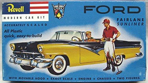 #1242 Revell Ford Fairlane Sunliner 1/32 Scale Plastic Model Kit,Needs - In Fairlane Stores