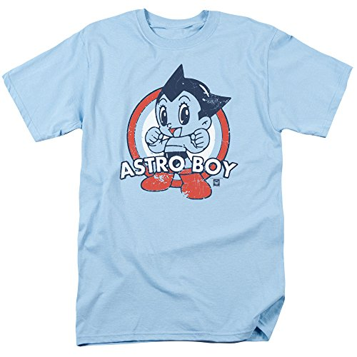 Astro Target Boy Adult T-Shirt, Large Blue ()