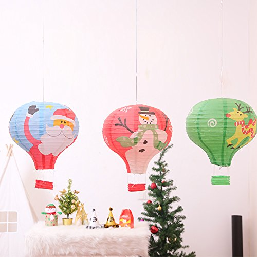 12-Hot-Air-Balloon-Paper-Lantern-Chinese-Japanese-Paper-Lamps-for-Christmas-Birthday-Wedding-Halloween-Party-Decoration3Colors-6PcsPack-Mix-design