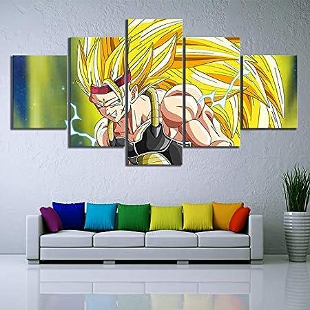 mmwin Arte de la Pared Imágenes 5 Panel Moderno Lienzo ...