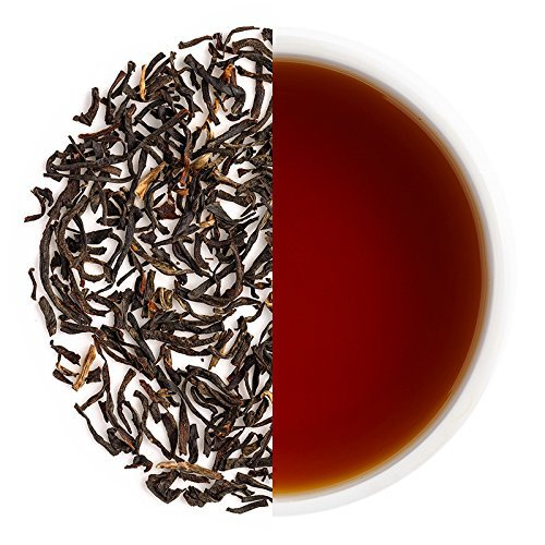 Teabox Darjeeling Lopchu Golden Orange Pekoe Black Tea 3.5 oz (40 Cups) from India | Loose Leaf with Sweet & Fruity Flavors | Delivered Garden Fresh Direct from (Dry Orange Tea)