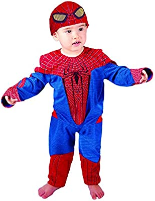 Marvel E254-002 - Disfraz de spiderman para bebé (12 meses ...