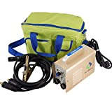 ARC WELDER ARC120 DC Stick 220V MMA Inverter Welding Machine Mini Portable Style 2.5mm Rod Stick Welder with Accessaries Earth Clamp Electrode and Toolbag