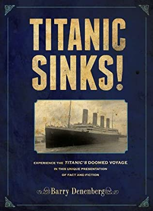 book cover of Titanic Sinks!