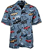 Buick Classic Cars Regal Skylark Riviera Hawaiian Camp Shirt by David Carey (M)