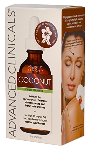 Advanced Clinicals Coconut Oil For Skin Repair Coconut