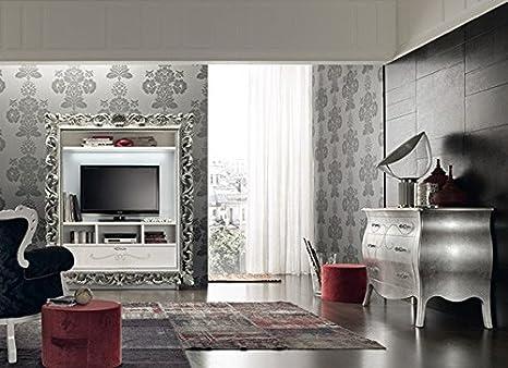Santarossa Le Monde - Porta TV con cassettone ART Vogue Le Monde ...