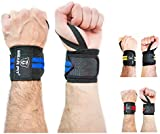 BEAR FIT - weight lifting wrist support wraps, one size fits all (sold in pairs)