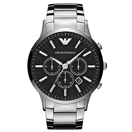 black dial stainless - 7