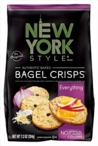 Nys - Bagel Crisp Everythng 7.2 Oz. Pack Of 12