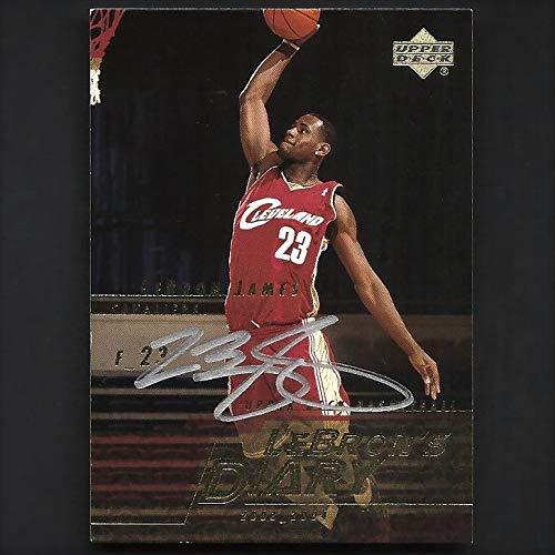 Cleveland Cavaliers Rookie Basketball - Upper Deck Lebron James Autograph Signed 2003 Rookie Card w/COA Cavaliers Nice!