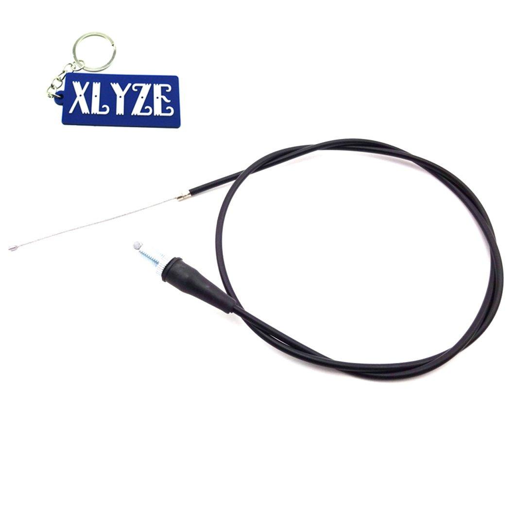 XLYZE 47' Cable del acelerador de gas para China Pit Dirt Motor Trail Bike Mini Motocross Motocicleta CRF KLX TTR SSR IMR YCF